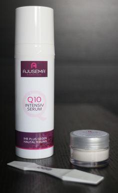 """Hallo meine Hübschen, ich habe in den letzten Wochen das """"Q10 Intensiv Serum"""" und den """"Your Cleanser"""" von #ajusema getestet.  Meinen ausführlichen Testbericht findet ihr auf meinem Blog! ;-) #rennerkosmetik #antiaging #q10 #q10serum #gesichtsreinigung"""