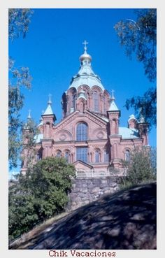 Uspenskij, the Cathedral of the Dormition in Helsinki. This is the church I've visited the most times.