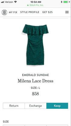 Just received this dress in my December fix! It's perfect.  it!