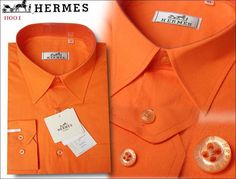 "Pay close attention to that stitching - after all, it embodies the Hermes philosophy of ""7 stitches per centimetre"" - that means every item that wears the Hermes label - in this case, men's shirts - is so lovingly, conscientiously created that it fits like it was made for you. Cost be damned."