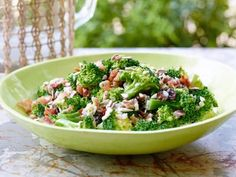 Broccoli Salad Recipe Trisha Yearwood Food Network, Roasted Broccoli Salad with Lemons and Almonds, Broccoli Salad Recipe Brown Eyed Bake. Top Recipes, Side Dish Recipes, Salad Recipes, Cooking Recipes, Healthy Recipes, Easy Recipes, Family Recipes, Drink Recipes, Delicious Recipes