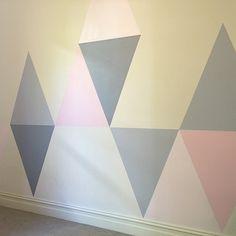 geometric wall