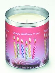 Aunt Sadie's Happy Birthday To You Candle