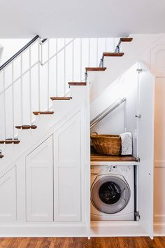 40 best sub-stair storage ideas for your small space sub-stair storage ideas . 40 Best Under Stairs Storage Ideas for Your Small Space Understairs Storage Ideas Small Space stairs storage, House Stairs, Staircase Storage, Storage Design, Room Under Stairs, Hallway Storage, Laundry Room Design, House Interior, Storage, Stairs Design