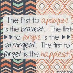 I hope one day I earn forgiveness from those I have hurt.