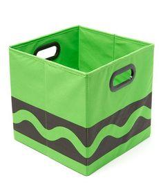 Another great find on #zulily! Crayola Black & Green Serpentine Storage Bin #zulilyfinds