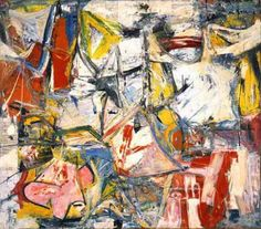 Kooning and his wife, Elaine, also an artist, decided to move to East Hampton, New York, where they had on occasion been weekend guests of Jackson Pollock. Description from pinterest.com. I searched for this on bing.com/images
