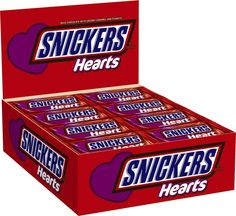 Snickers Chocolate Candy Heart, Singles (24 Count)