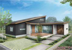 Japan House Design, Gaudi, Dog Houses, Architecture, Exterior Design, Bungalow, Facade, Outdoor Decor, Home Decor