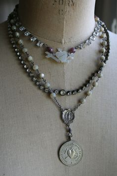 Anchors and Sacred Hearts by amyhanna on Etsy