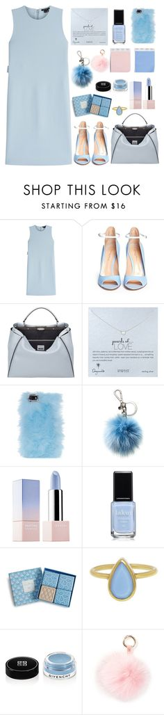 """Pantone"" by soygabbie ❤ liked on Polyvore featuring Theory, Gianvito Rossi, Fendi, Dogeared, Skinnydip, Michael Kors, Sephora Collection, Vera Bradley, Annette Ferdinandsen and Givenchy"