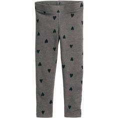 Leggings i kraftig trikå 39 90 ($9.99) ❤ liked on Polyvore featuring pants, leggings, h&m trousers, h&m leggings, h&m pants and legging pants