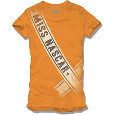 Ok ladies.....who's proud to be a NASCAR fan?!?! Why not show it with this classic shirt from nascar.com!