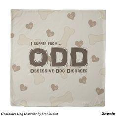 Obsessive Dog Disorder Duvet Cover