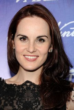 simple, pretty hair. Michelle Dockery - Variety And Women In Film Pre-Emmy Event - Arrivals