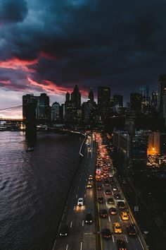 — vxpo: New York City Sunset by Daniel Malikyar |...
