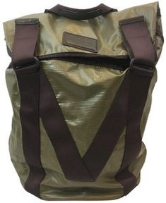 dbe6958bc8c3 Marc by Marc Jacobs Standard Supply  Fall 2012 Army Green   Brown Pvc  Backpack -