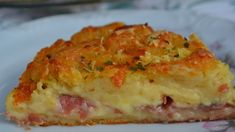 Receita de Torta de batata com presunto e queijo - Mallu Hessel