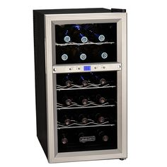 Koldfront 18-bottle Dual Zone Wine Refrigerator | Overstock™ Shopping - Big Discounts on Koldfront Wine Coolers