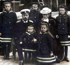 Romanov family photo.