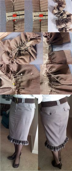 My next pants-to-skirt project?