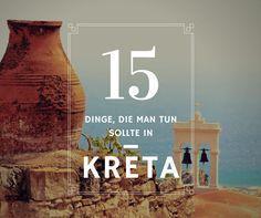Top 15 Dinge, die man tun sollte in #Kreta http://www.e-mietwagenkreta.de/blog/15-dinge-zu-tun-in-kreta/