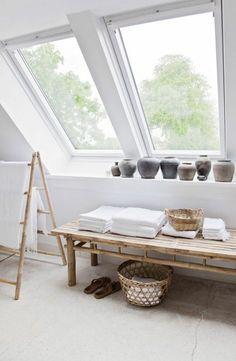 La fenêtre de toit pour ma salle de bain