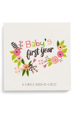 Lucy Darling 'Baby's First Year' Memory Book available at #Nordstrom