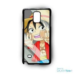 Luffy trap to looking glass AR for Samsung Galaxy Note 2/3/4/5/Edge phonecase