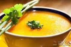 Receita de Caldinho de mocotó especial em receitas de sopas e caldos, veja essa e outras receitas aqui! Polenta, Soup Recipes, Cooking Recipes, Goulash, Beef Steak, Pasta, Thai Red Curry, Stew, Food And Drink