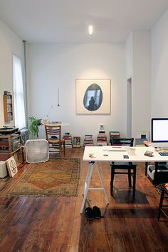 Brooklyn apt _ photo from flickr by Annie Larson/ALL Knitwear