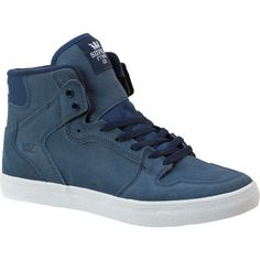 Men's Supra Vaider High Top Skate Shoe - Wouldn't mind adding these to our collection.