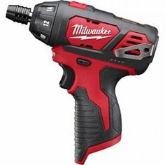 Milwaukee Lithium-Ion Cordless in. Hex Screwdriver (Tool-Only) Electric Screwdriver, Milwaukee M12, Milwaukee Tools, Cordless Drill Reviews, Drill Driver, Diy Tools, Power Tools, Home Improvement, Perms