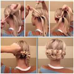Easy hair up