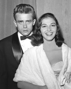Pier Angeli and James Dean, 1953 by shadees, via Flickr