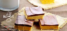 ★ Домашнее пирожное с арахисовым маслом ★ #печенье #сахар #масло арахисовое #масло сливочное #шоколад