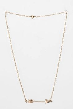 Delicate Arrow Necklace - Urban Outfitters
