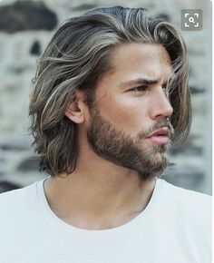 Men's style. Beard. Haircut