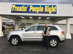 Congratulations David & Charlotte Shockley on the purchase of your 2012 Jeep Grand Cherokee. We appreciate your business and friendship.