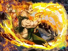 Read Nanatsu No Taizai (七つの大罪) 7 deadly sins Manga is one of the more recent manga I've read, and I must say when I first saw the trailer for the anime ) Seven Deadly Sins Anime, 7 Deadly Sins, Lord Escanor, Fanarts Anime, Anime Characters, Otaku, Praise The Sun, Seven Deady Sins, Animes On
