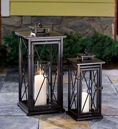 lantern--I love lanterns. I'm going to start collecting them one at a time for a mantle or sideboard table in my living room...also good for outdoor decorations and centerpieces.