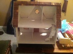 Dollhouse before picture. Interior.