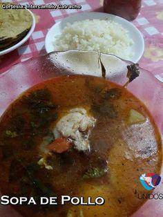 Sopa de pollo, Honduras.