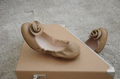 ReNika: Armani ballerinas