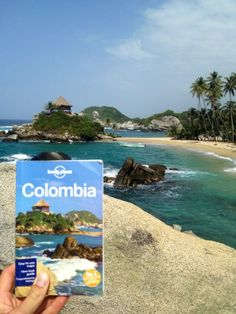 Reached the cover of lonely planet Colombia!! Parque Tayrona