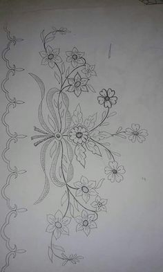 Hand Embroidery and Its Types - Embroidery Patterns Tambour Embroidery, Hand Embroidery Patterns, Vintage Embroidery, Embroidery Applique, Floral Embroidery, Cross Stitch Embroidery, Machine Embroidery, Sewing Art, Cutwork