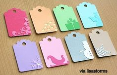 Virginia Costa: Gift Tags - Etiquetas