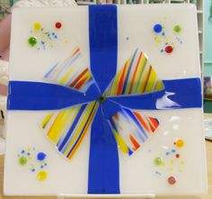 Glass Fused Plate for the Holidays