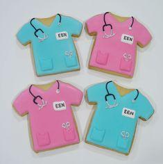 Nurse cookies Nurse Cookies, Adulting, Desserts, Kids, Food, Tailgate Desserts, Young Children, Nursing Cookies, Deserts