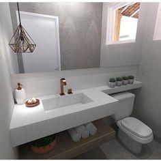 Image may contain: indoor Bathroom Design Small, Simple Bathroom, Bathroom Interior Design, Small Toilet Room, Studio Apartment Decorating, Bathroom Inspiration, Decoration, Home Decor, Corian